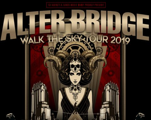 Alter Bridge Tour Poster