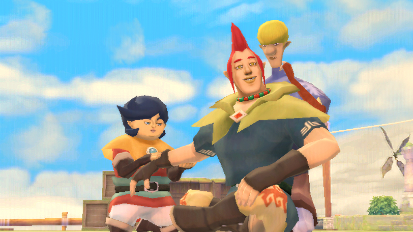 "Groose und seine Lakaien in ""The Legend of Zelda: Skyward Sword""."