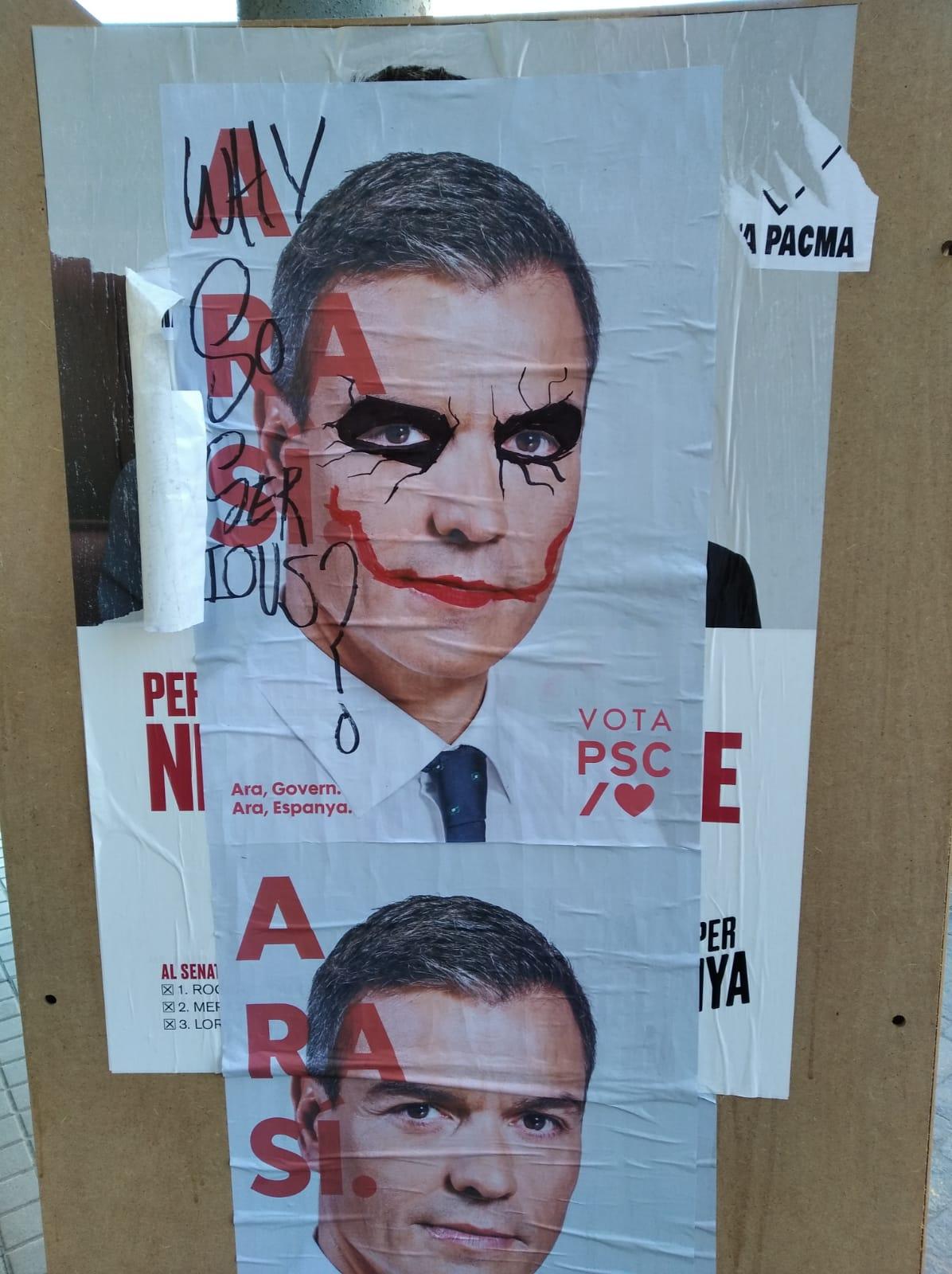 Plakat Wahl