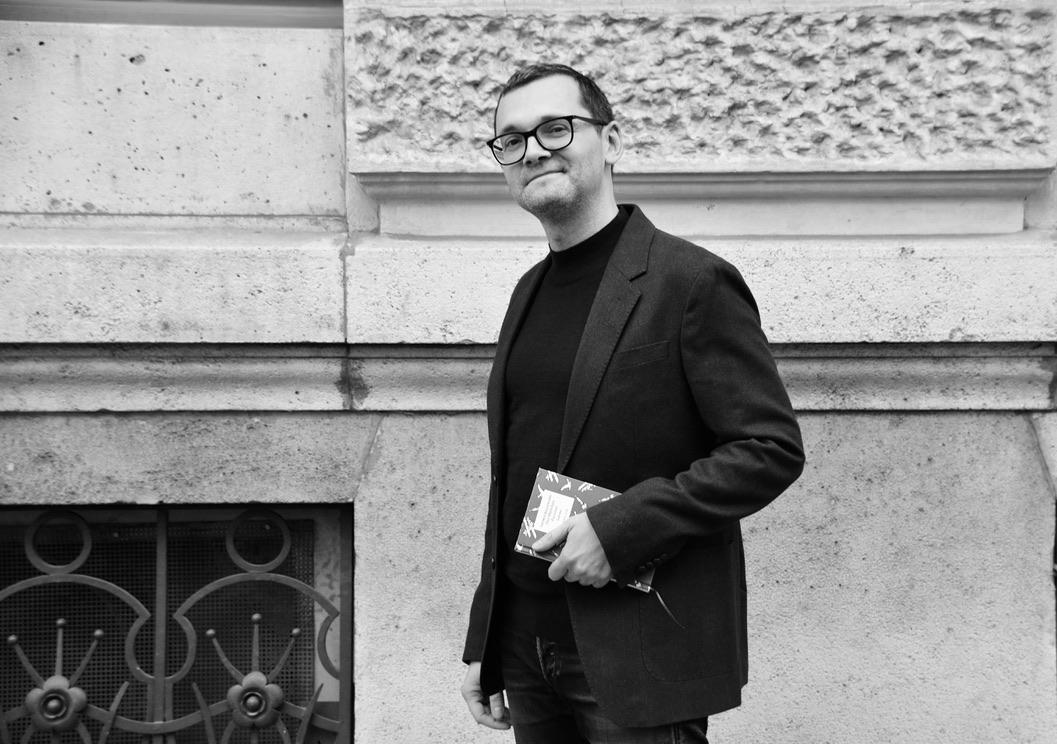 Thomas Ballhausen mit Buch