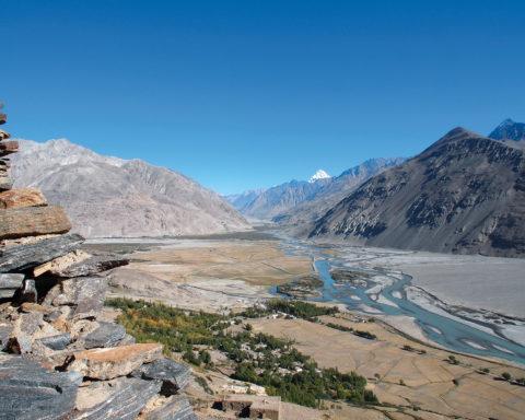 Tadschikistan mit Blick auf Afghanistan