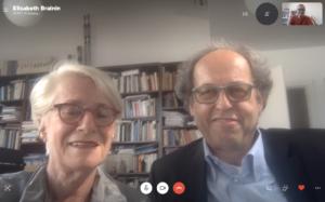 Elisabeth Breinin und Samy Teicher