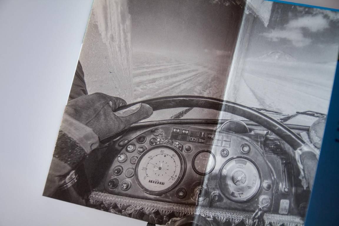 Sechs Jahre Weltumrundung Cover im LKW Oldtimer durch 54 Länder