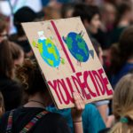 Demo gegen Klimakrise