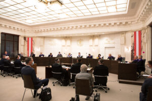 Verhandlung des Verfassungsgerichtshofs am 24.09.2020